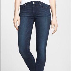 Paige Verdugo Crop Stretch Skinny Jeans Stevie 30